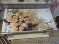 Журнальный столик с фото столешницей ЛДСП 110*60
